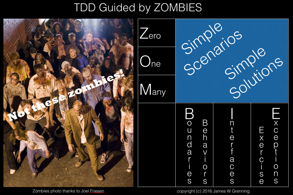 Not these zombies